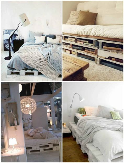 Easy Diy Ideas For Pallet Beds ? 1001 Pallets
