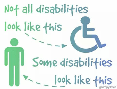 Image result for invisible disabilities