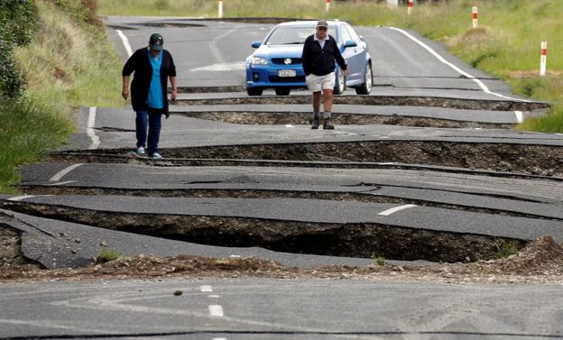 Major Earthquake Triggers Tsunami In New Zealand