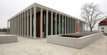 Museo literatura moderna de David Chipperfield