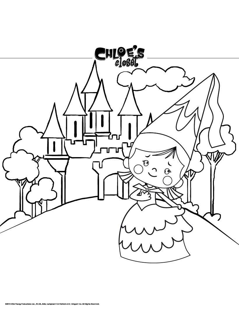 Prinzessin Chloe und ihr Schloss