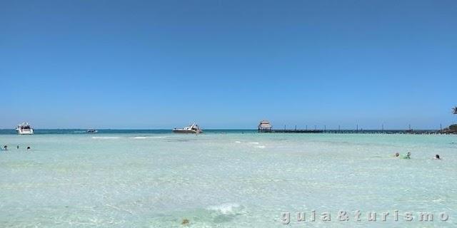 Um dia de praia em Isla Mujeres