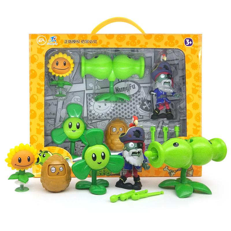 Plants vs.Zombies Peashooter SunFlower Toy Party Game Gift ...
