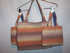 Canvas Tote- 2 mini, 1 Med
