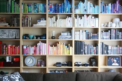 so i organized my bookcase