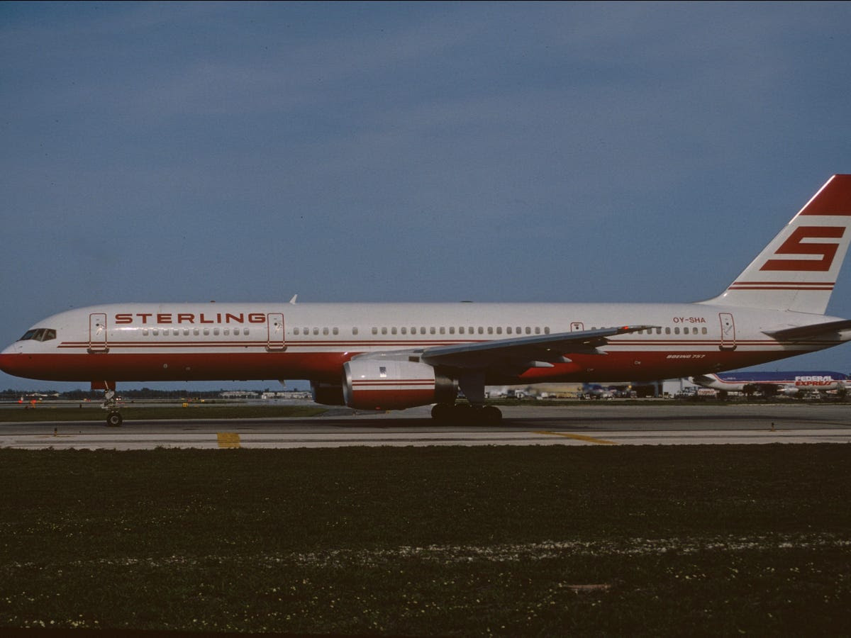 Trump's Boeing 757-2J4ER first flew in May 1991. The new airliner was delivered to Sterling Airlines, a now defunct Danish low-cost carrier. A couple of years later, it found its way into the fleet of Mexico's TAESA, also a now defunct airline.