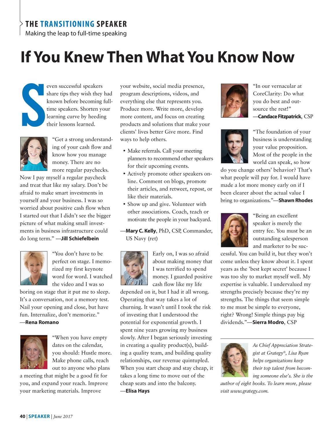 Speaker June 2017 Page 40