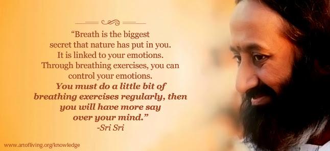 Sri Sri Ravi Shankar Celebrating Life With Silence A Say Over