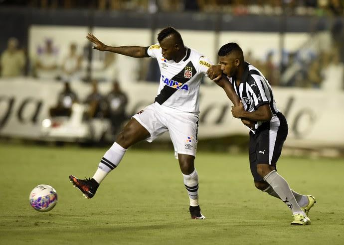 Riascos - Vasco x Botafogo (Foto: André Durão)