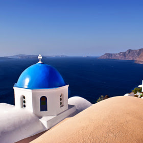 Blue of Santorini Island by Renzo Re (renzore) on 500px.com