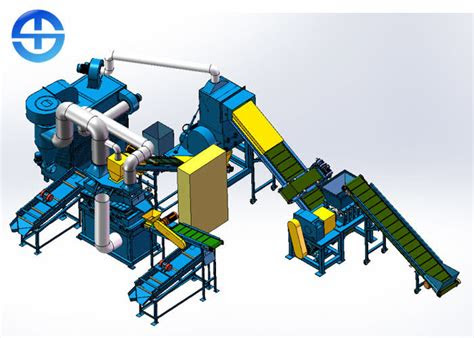 plc dry type  kgh copper wire recycling machine