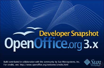 openoffice 3.3 mac. Download OpenOffice 3.0 Beta 2