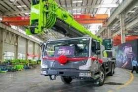 Zoomlion Klaim Truck Crane Elektrik Pertama oleh - distributorbekosumitomo.xyz