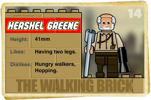 Slightly Inappropriate Lego #14 : Hershel Greene