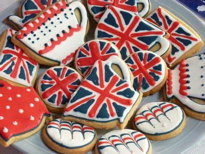 British cookies   British or Union Jack Theme Party
