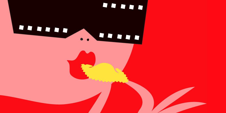 Αποτέλεσμα εικόνας για italiano cinema illustration