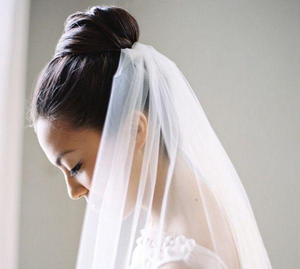 Acconciatura Da Sposa Con Velo Opzioni Per La Tessitura E L