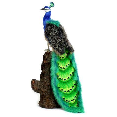 Peacock 100cm Plush Soft Toy By Hansa   Dragon Toys Teddy Bears and Soft Toys