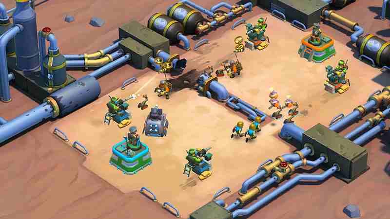 game Blitz Brigade Rival Tactics cho iphone
