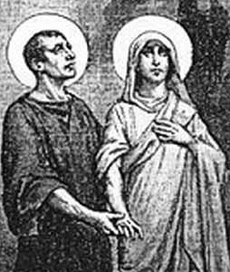 Święci Chryzant i Daria