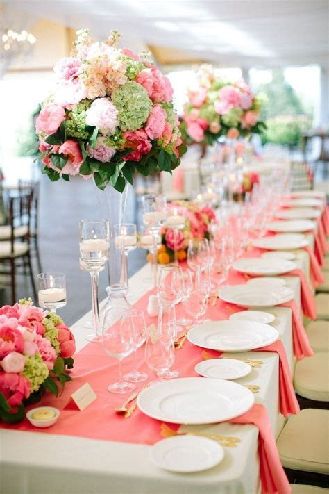 65 best Coral Wedding & Event Decor images on Pinterest