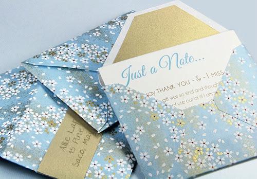 Custom Made Envelopes Tutorial