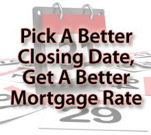 Closing dates and rate locks