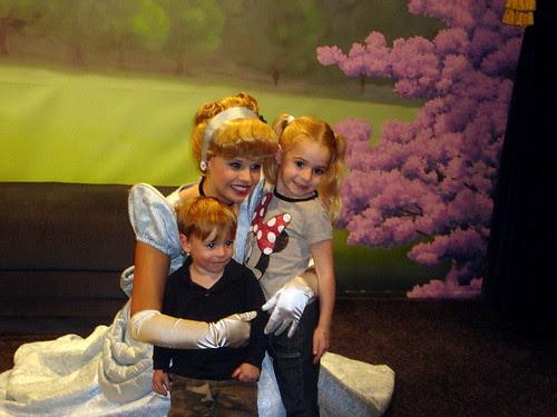 With Cinderella