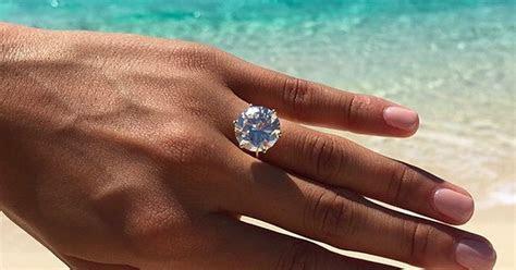 Bryiana Noelle Engagement Ring   POPSUGAR Celebrity
