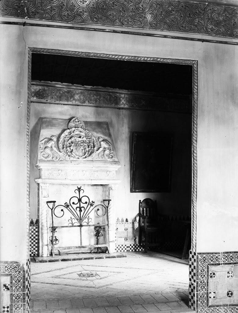 Chimenea del Museo del Greco en los años 20. Detalle de una Fotografía de Otto Wünderlich. © Fototeca del Patrimonio Histórico
