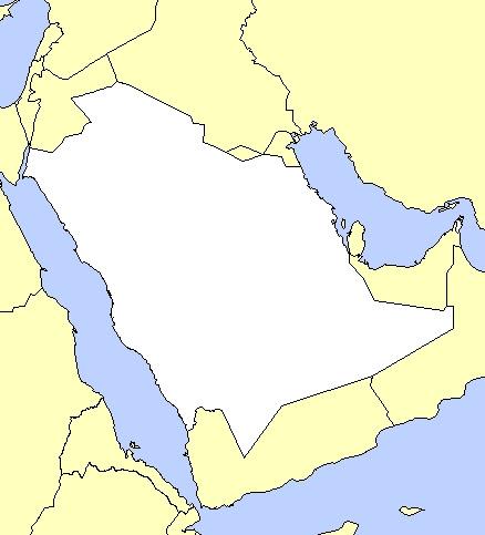 خريطة مناطق المملكة العربية السعودية صماء Kharita Blog