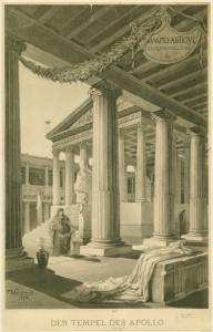 Der Tempel des Apollo. Digital ID: 1621130. New York Public Library