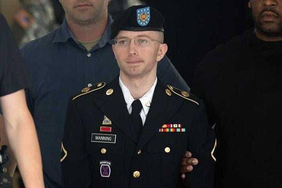 Bradley Manning filtró unos 700 mil documentos confidenciales a Wikileaks. Foto: AFP.