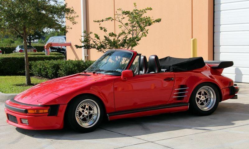 1986 Porsche 911 Turbo Wide Body Slant Nose Demo Car