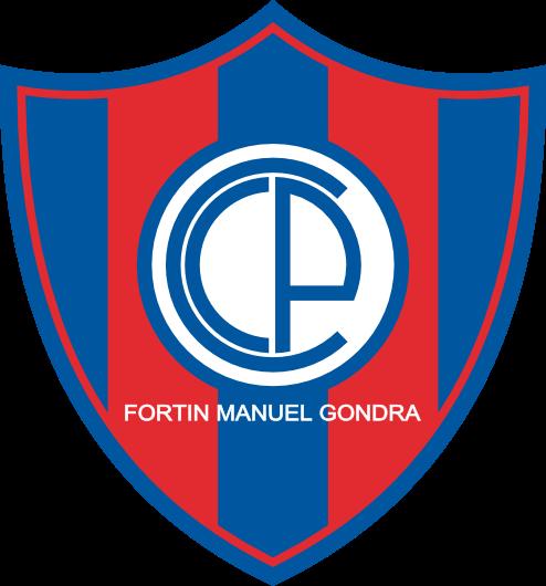 Escudo Club Cerro Porteño de Fortin Manuel Gondra