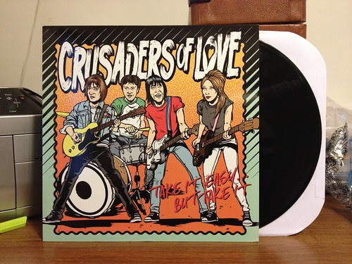 Crusaders Of Love - Take It Easy...But Take It LP by Tim PopKid