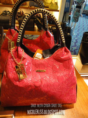 patent leather bonia bag