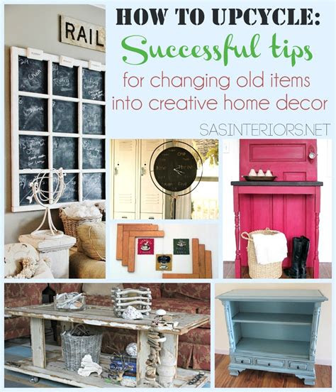 upcycle successful tips  changing  items