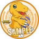 "Digimon Adventure Magnet Sticker ""Agumon"" /"