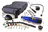 WEN 2301 9.6-Volt Cordless Rechargeable Rotary Tool Kit