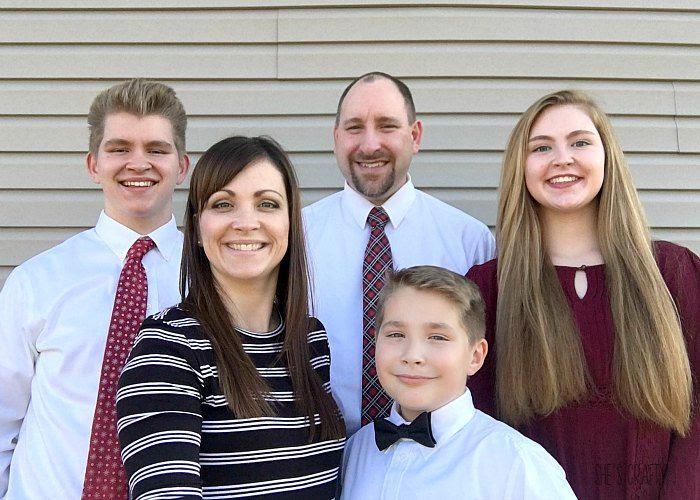 families are forever, family gratitude, family photo, eternal family