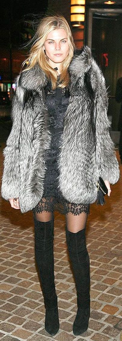 #High #Boots #Inspiration. How To Wear by Mes Voyages à Paris
