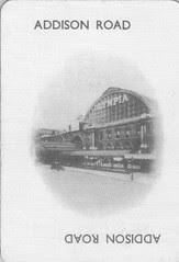 Addision Road Old Station Name Card from LOBO