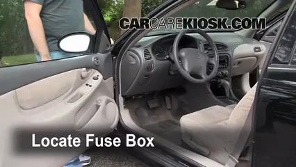 Interior Fuse Box Location: 1998-2002 Oldsmobile Intrigue ...
