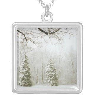 Winter Trees Pendants