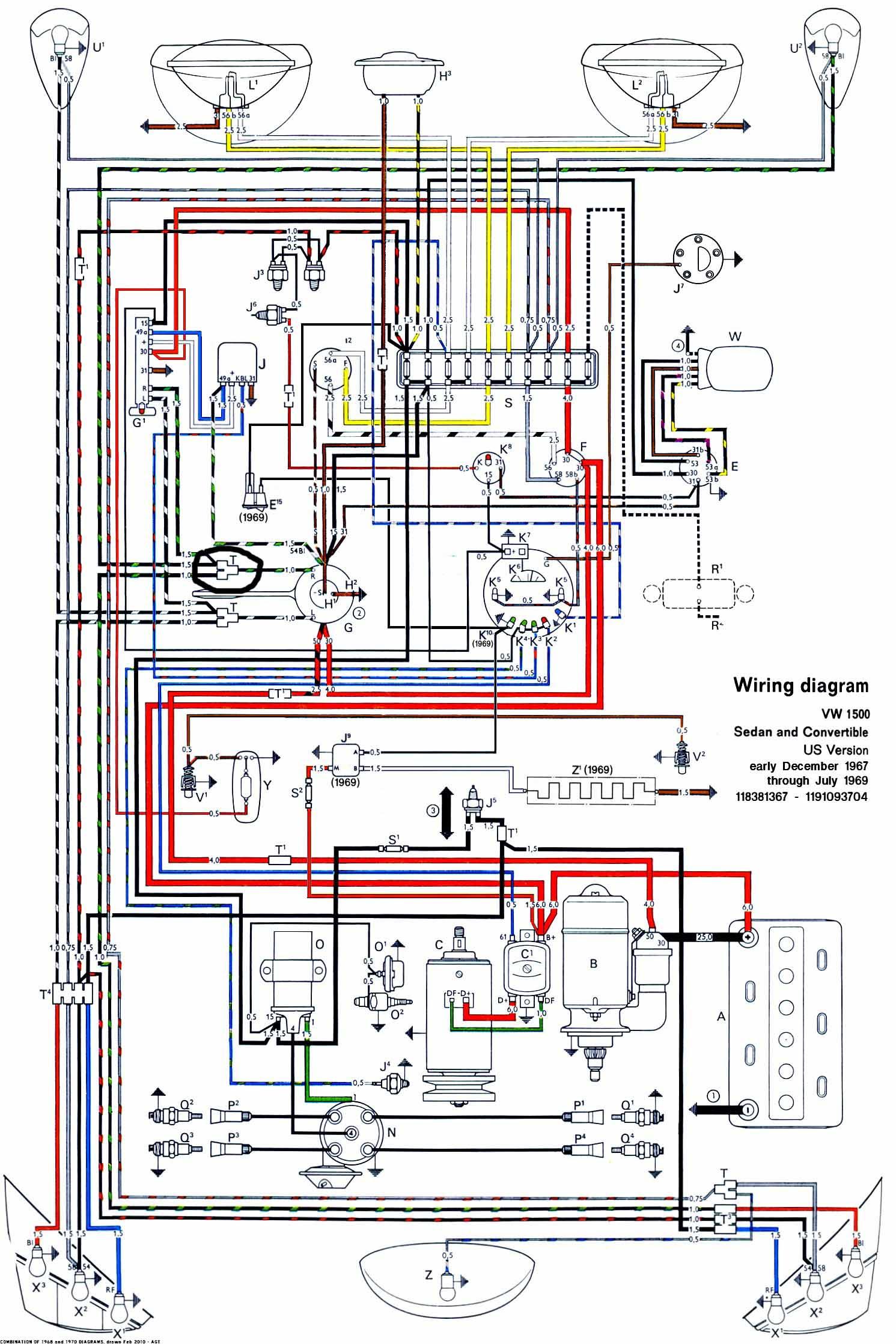 1969 Vw Bus Wiring Diagram Blower Fan Wiring Diagram For Light Basic Wiring Yenpancane Jeanjaures37 Fr