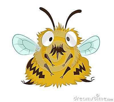 Lustige Biene Stockbild - Bild: 31223981