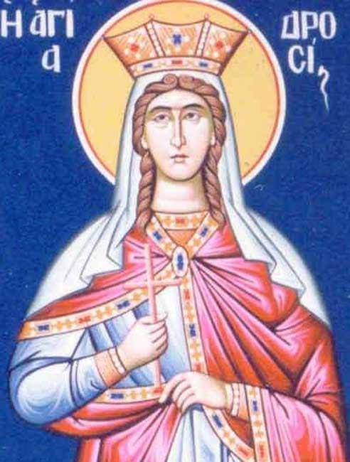 img ST. DROSIS, Martyr, Princess, Daughter of Emperor Trajan