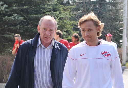 Олег Иванович Романцев и Валерий Карпин