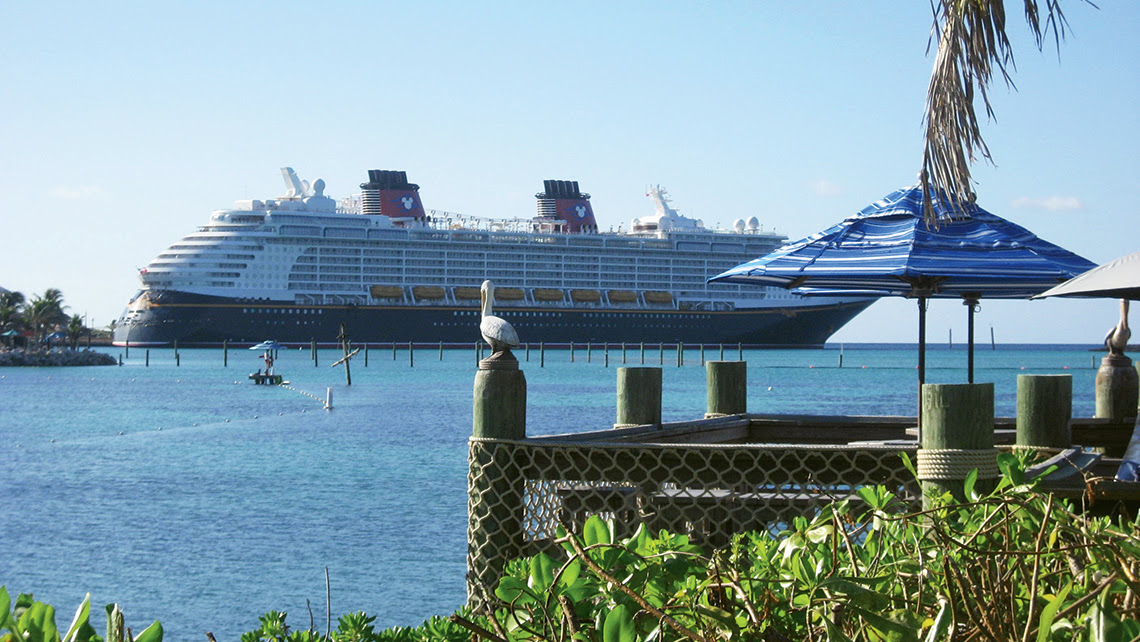 When Disney opened Castaway Cay in 1998 with its own pier, it became the new standard for passenger convenience. Photo Credit: TW photo by Tom Stieghorst